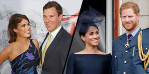 Princess Eugenie and Jack Brooksbank - Meghan Markle and Prince Harry