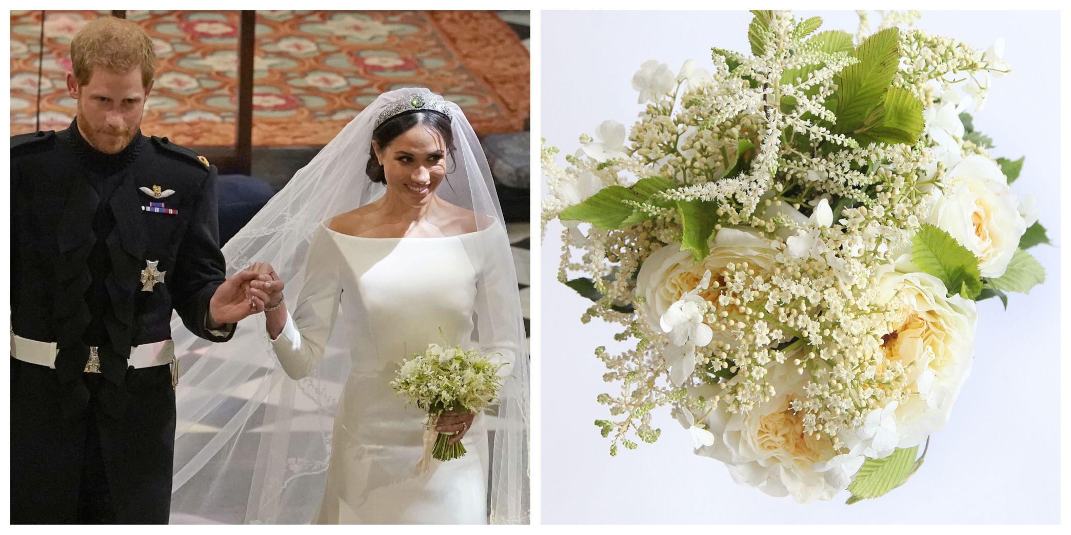 Royal Wedding Flowers You Can Now Buy A Replica Of Meghan Markles