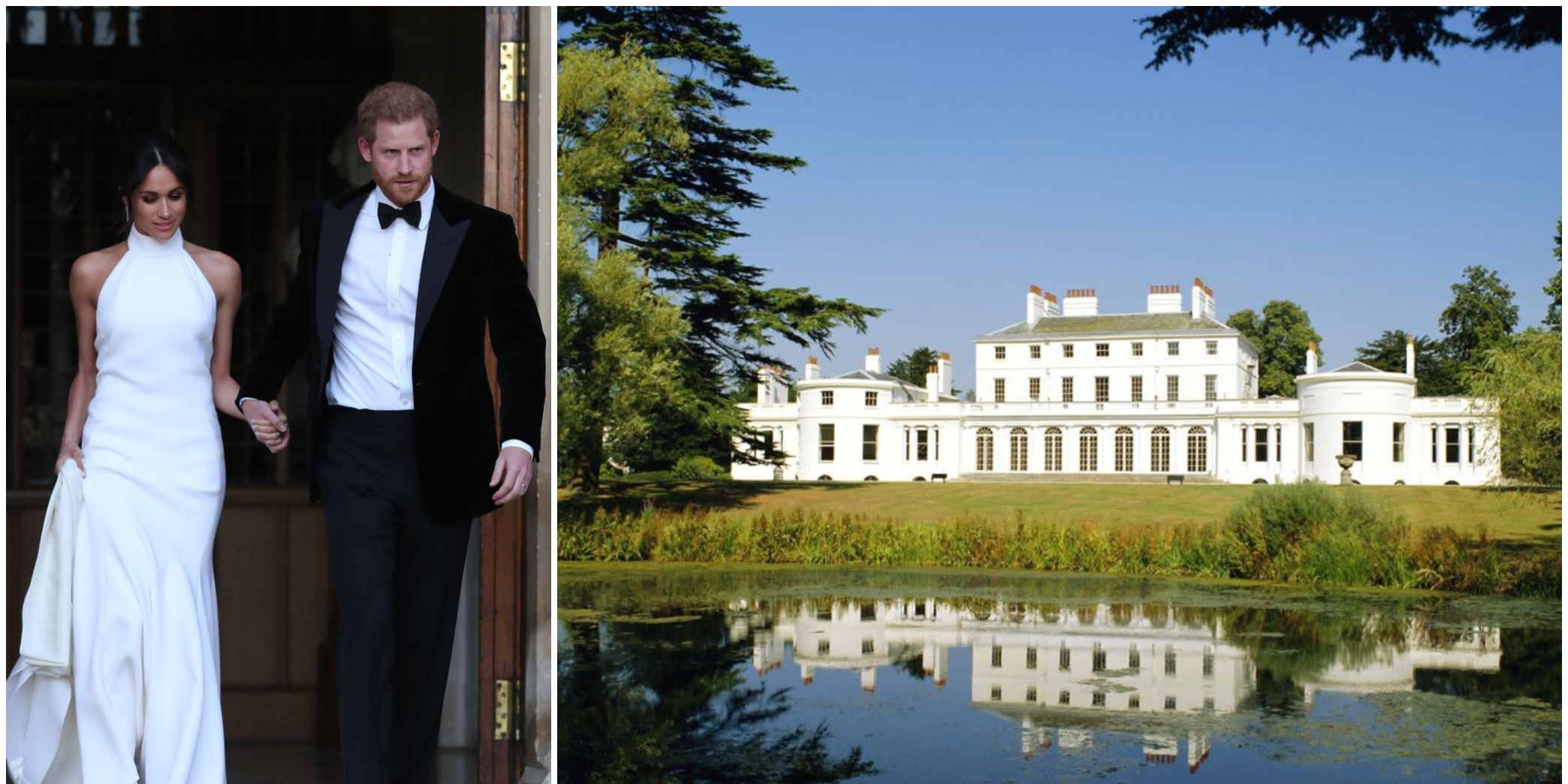 Prince Harry and Meghan Markle / Frogmore House