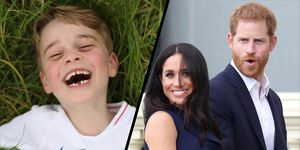 Harry, Meghan and George