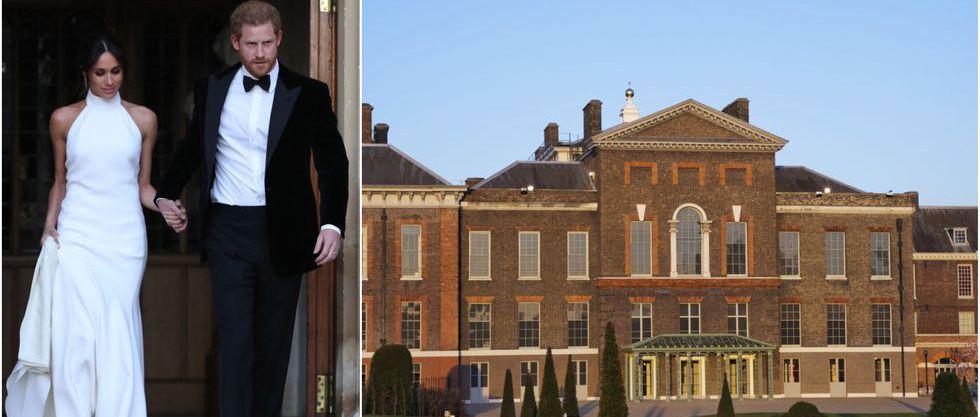 Newlyweds Prince Harry and Meghan Markle / Kensington Palace