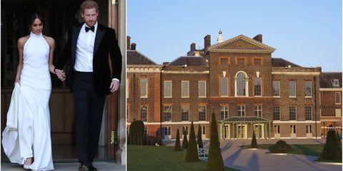 Newlyweds Prince Harry And Meghan Markle Kensington Palace