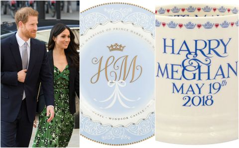 Prince Harry and Meghan Markle Royal Wedding memorabilia