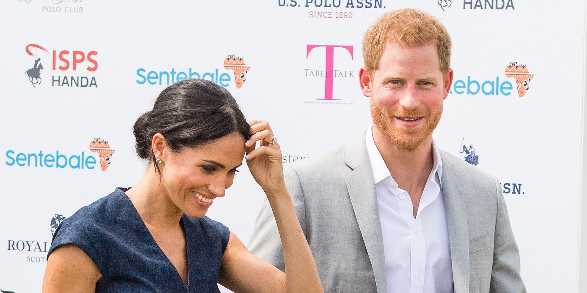 Prince Harry and Meghan Markle just fully snogged at the polo