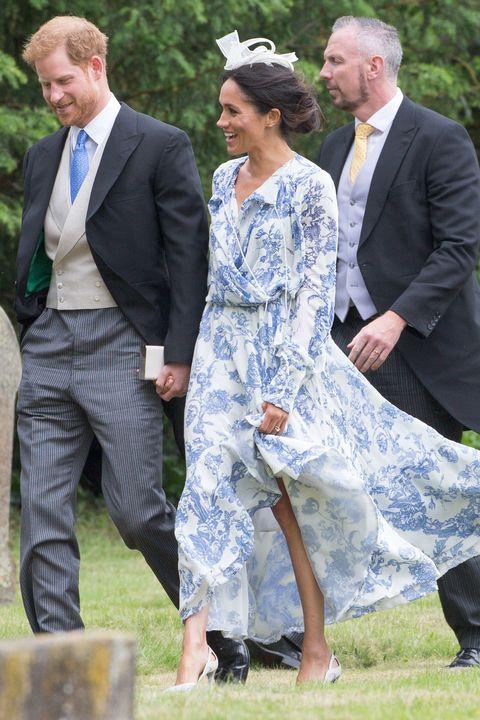 The Duchess Of Sussex Wears Oscar De La Renta For A Wedding Meghan