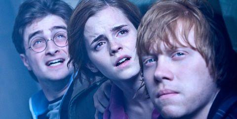 Harry Potter Hermione y Ron