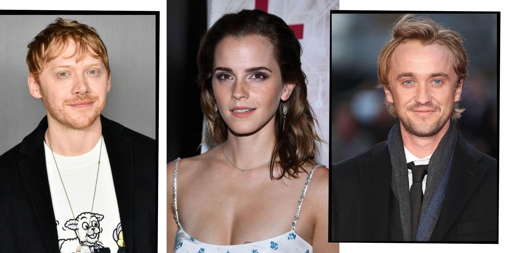 Rupert Grint Confirms 'Harry Potter' Co-Stars Emma Watson And Tom Felton Had A Romantic 'Spark'