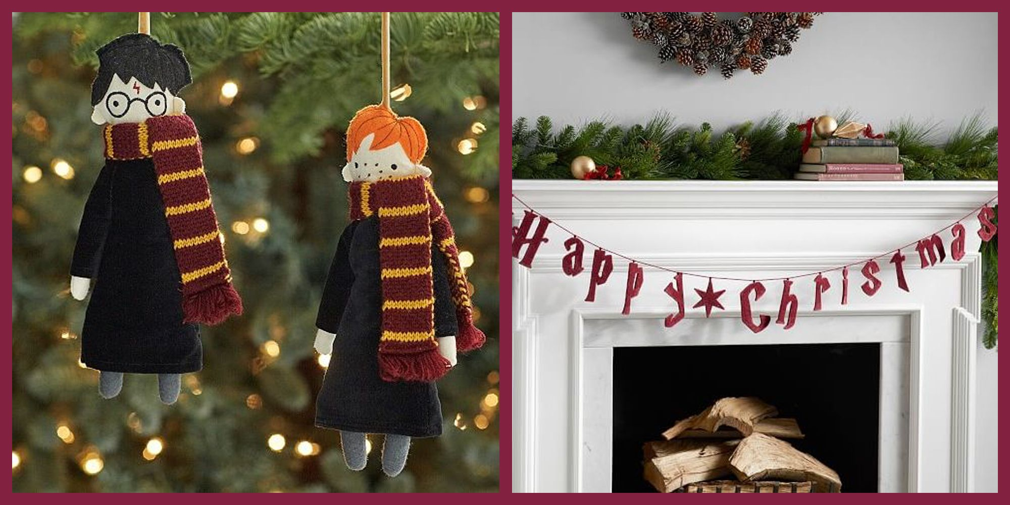 A Harry Potter Holiday Collection Was Just Released by Pottery Barn