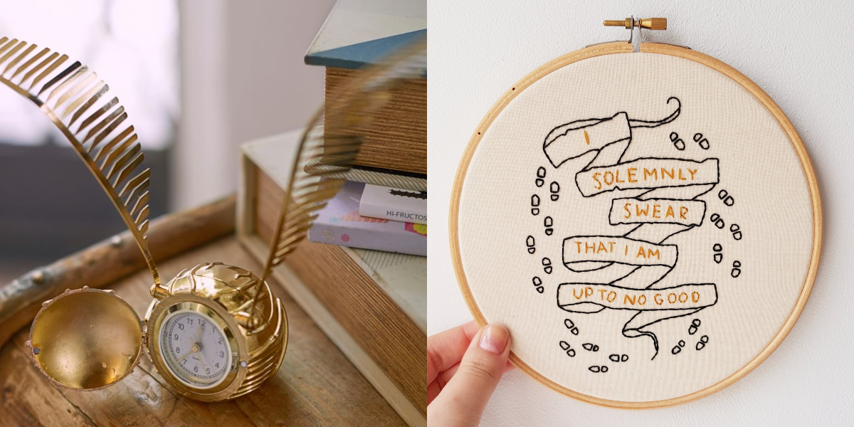 13 Harry Potter Decor Ideas You Need ASAP   Harry Potter Home