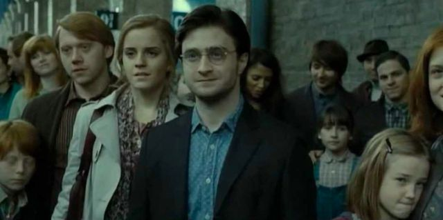 Why did hermione marry ron