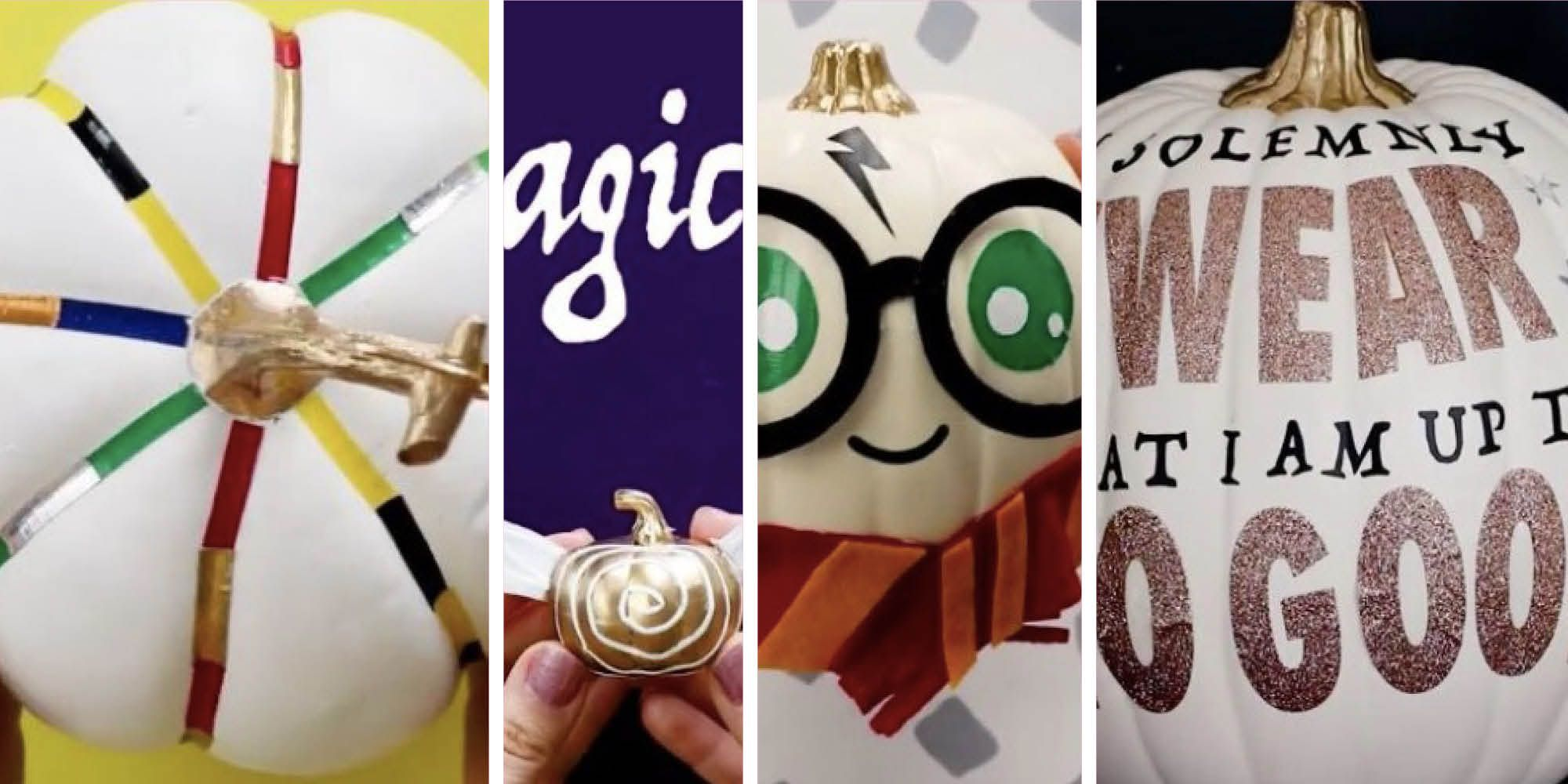 harry potter pumpkin designs