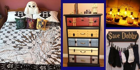 Harry Potter merchandise - best Harry Potter bedroom decor