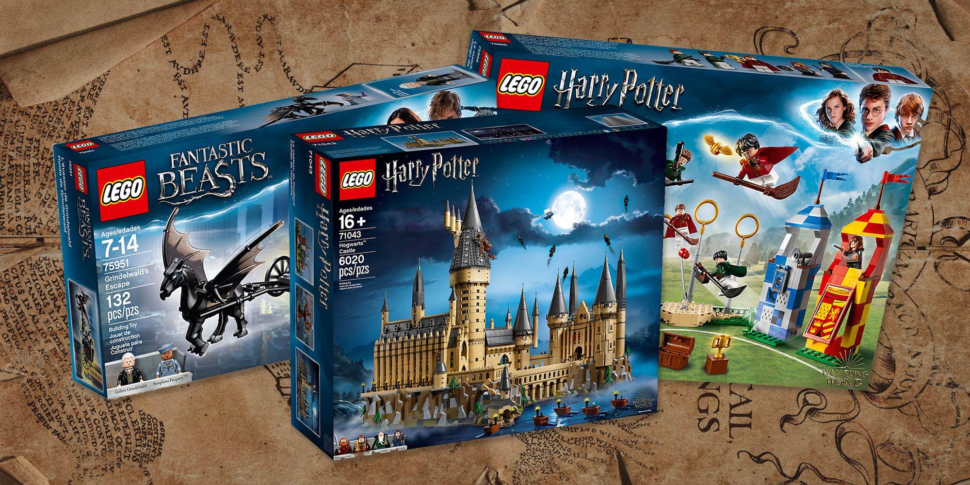 10 Lego de Harry Potter que gustarán a tus hijos (¡y a ti!)