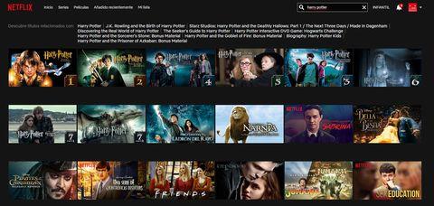 Netflix y HBO añade Harry Potter a su catálogo - Peliculas Netflix HBO