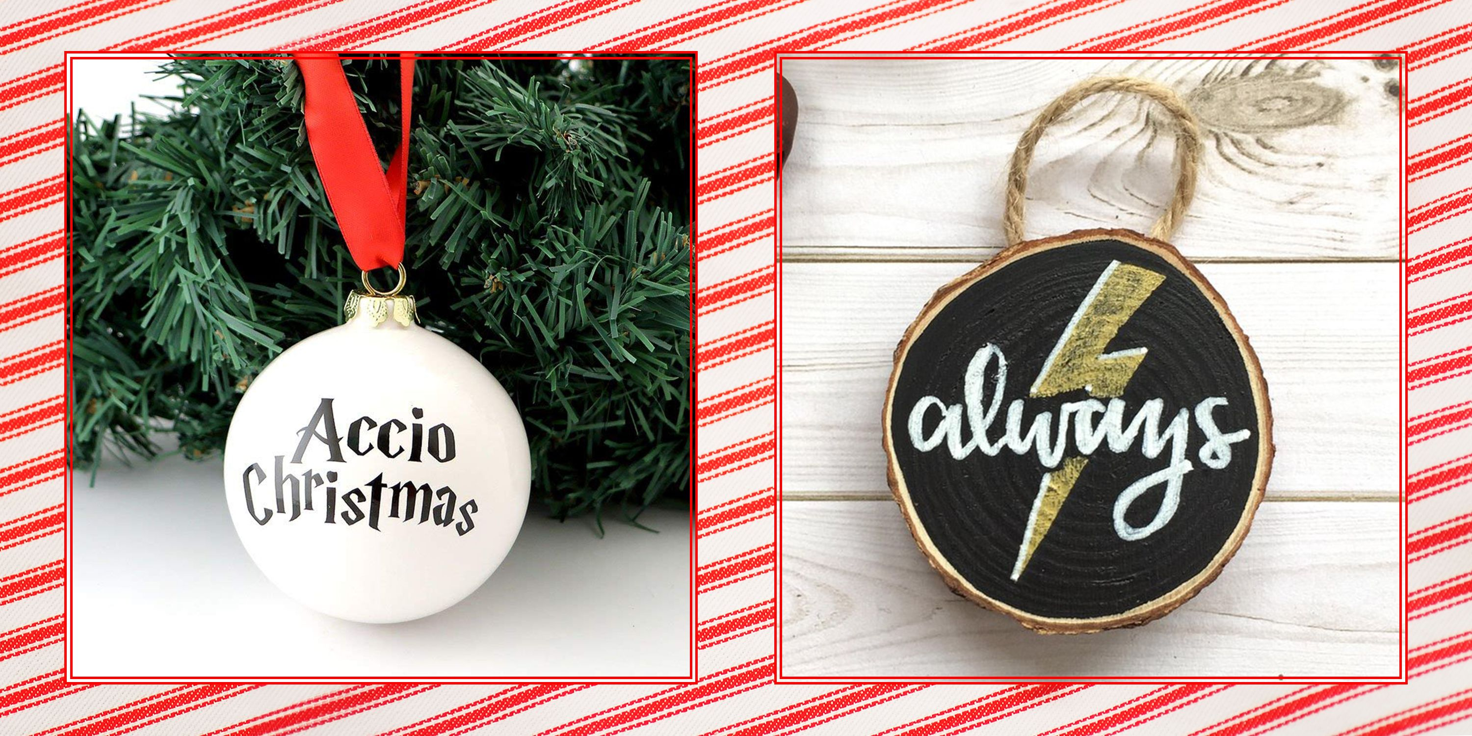 24 Magical Christmas Ornaments All Harry Potter Fans Will Love