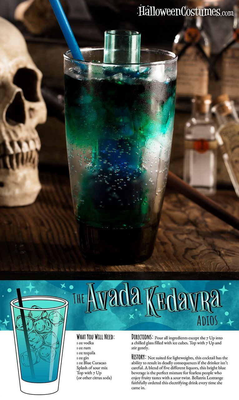 24 Harry Potter cocktail recipes any true fan should know