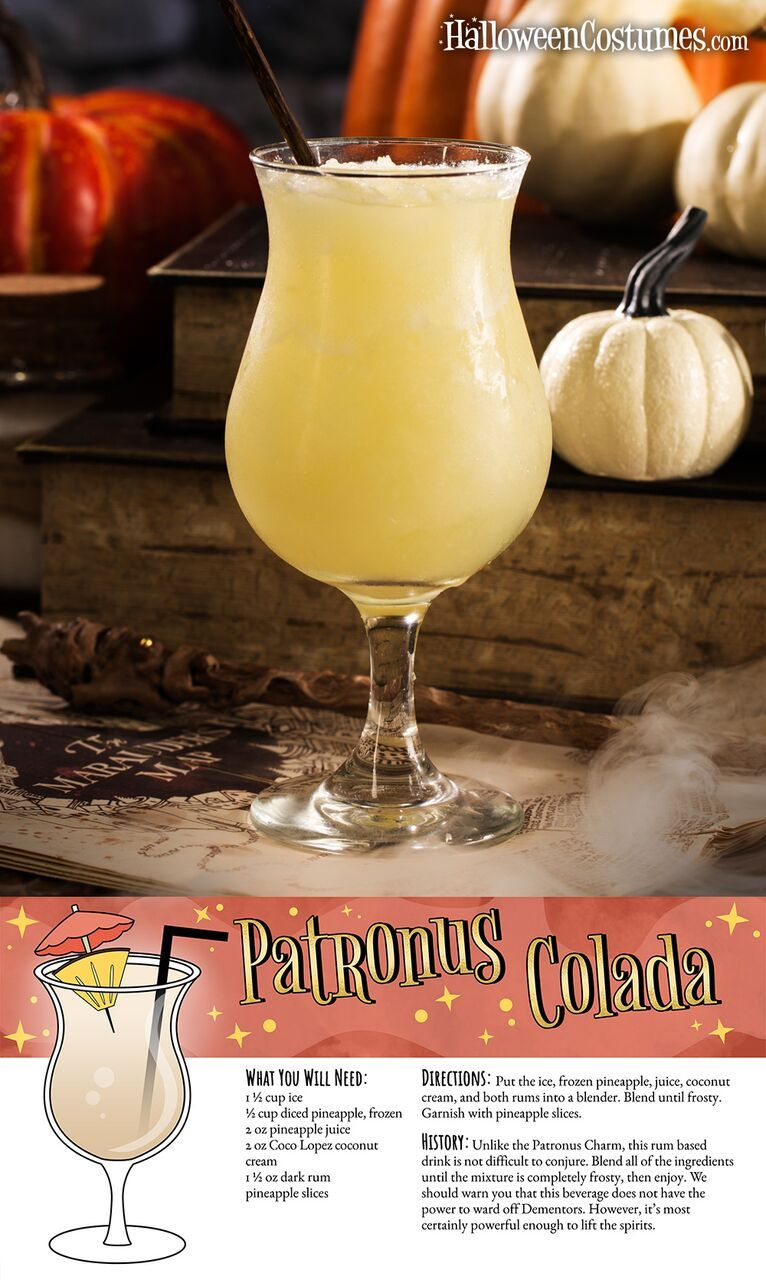 These Harry Potter cocktail recipes are much better than Butterbeer
