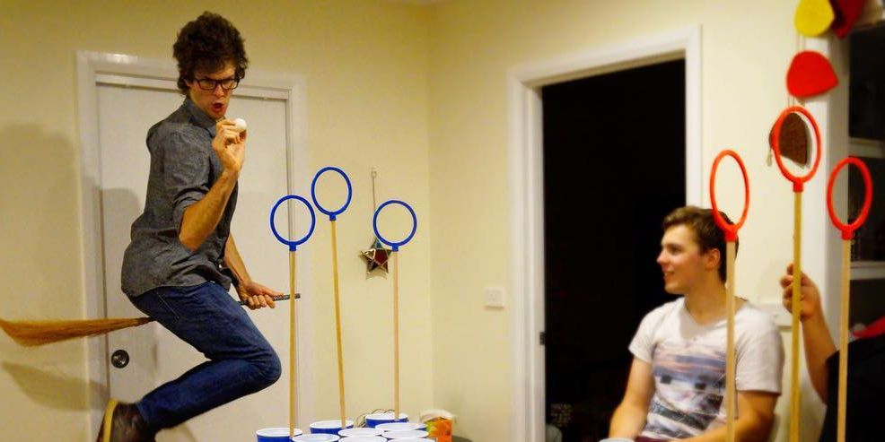 Etsy Is Selling A Harry Potter Quidditch Beer Pong Set
