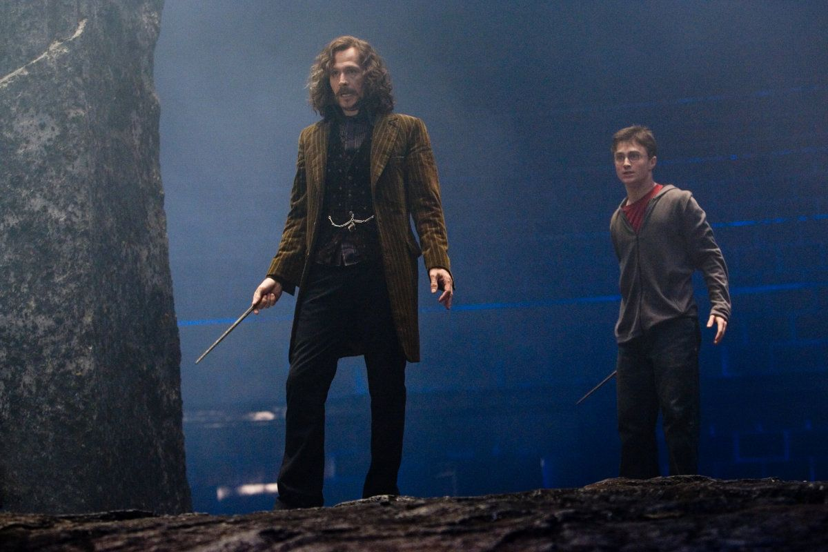 'Harry Potter': Sirius Black y Harry Potter se reencuentran