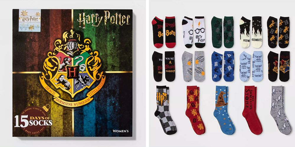 Target Is Stocked With 'Harry Potter' Sock Advent Calendars for the Comfiest Holiday Countdown
