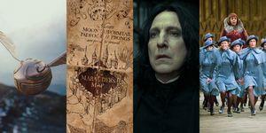 Quidditch, el mapa del merodeador, severus snape y beauxbattons