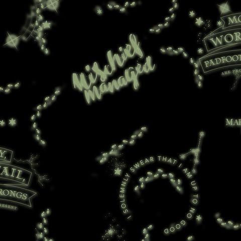 Glow-in-The-Dark Harry Potter Wallpaper