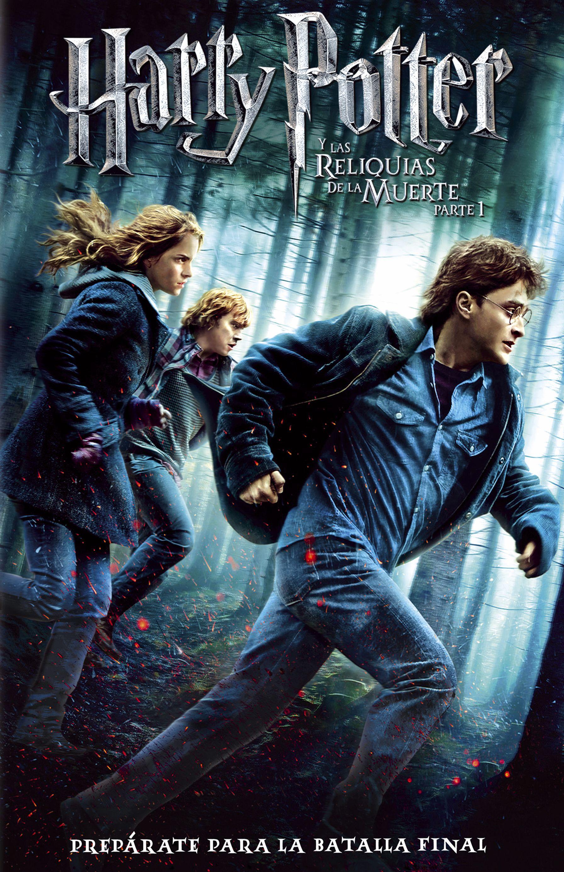 Harry Potter y las Reliquias de la Muete parte 1
