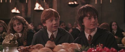 Hermione Ron y Harry