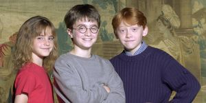 Hermione Harry y Ron