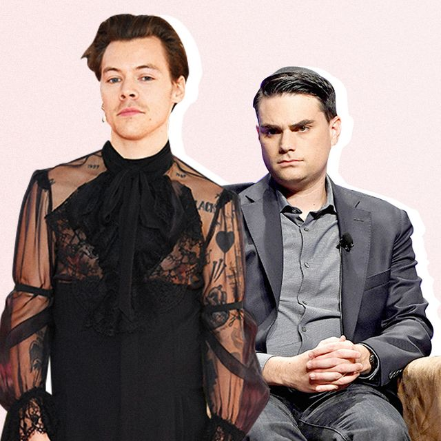 ben shapiro and candace owens react to harry styles dress vogue cover harry styles dress vogue cover