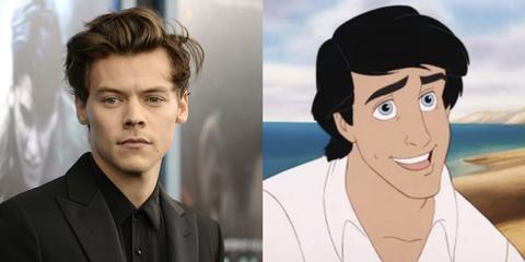 Harry Styles la Sirenita Eric
