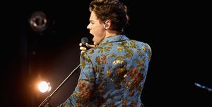 harry styles, gucci, gira, Alessandro Michele, cantante, one direction, live on tour, barcelona, madrid, estados unidos, marzo 2018