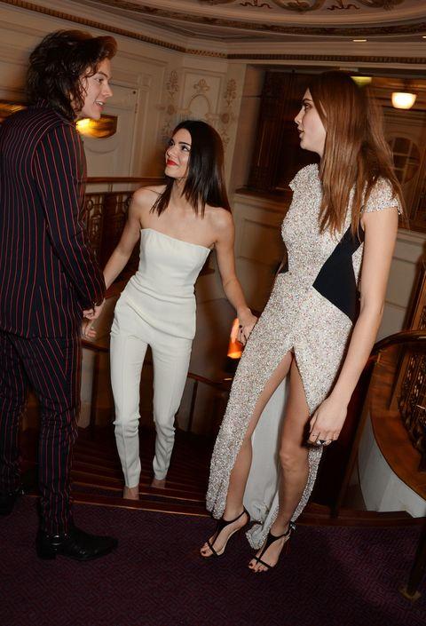 Harry Styles, Kendall Jenner, ex relationships, awkward, Cara Delevingne