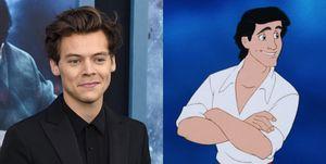 Harry Styles y La Sirenita