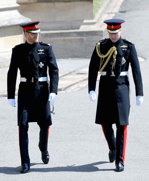 Prince Harry Wore Blues And Royals Dress Uniform For Royal