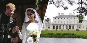 El príncipe Harry y Meghan Markle se mudan a Frogmore House