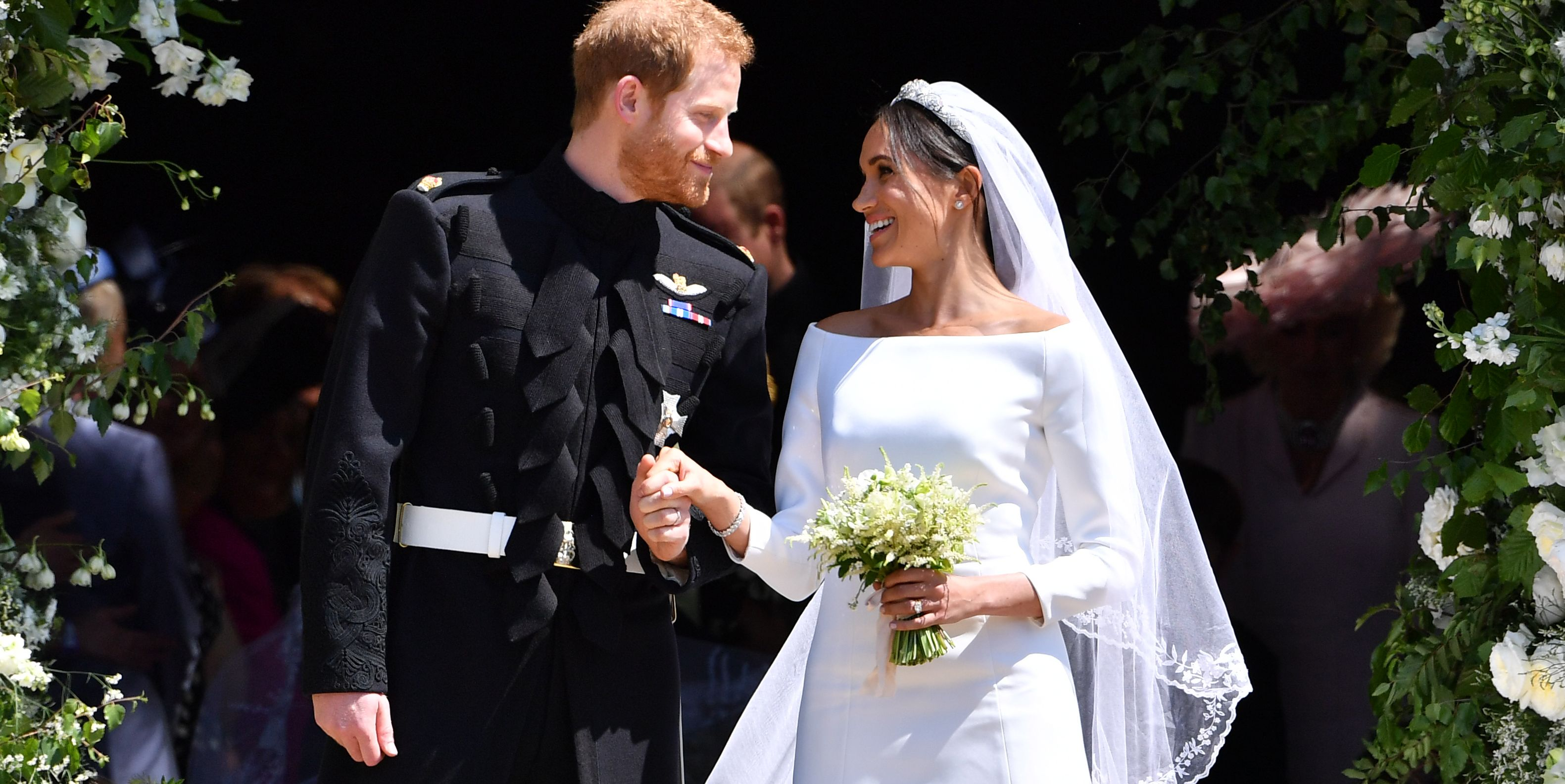 Prince Harry And Meghan Markle S Wedding Photos Pictures