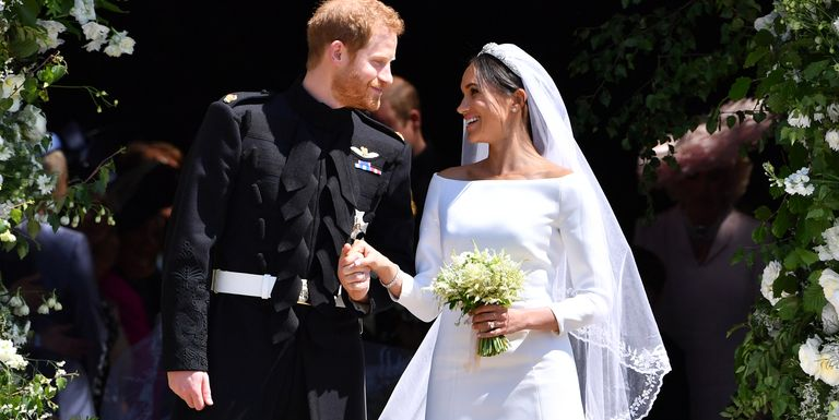 Image result for meghan and harry's wedding