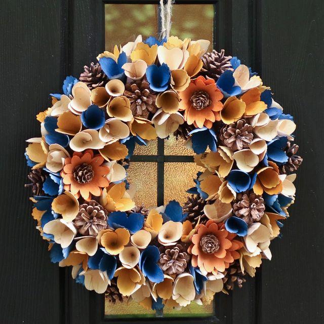 autumn door wreaths