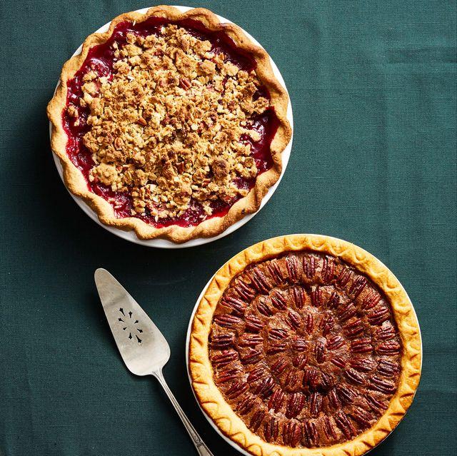 harvest pear blackberry pie brown sugar pecan pie