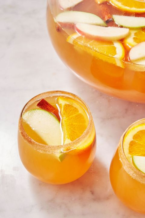 harvest punch cocktail