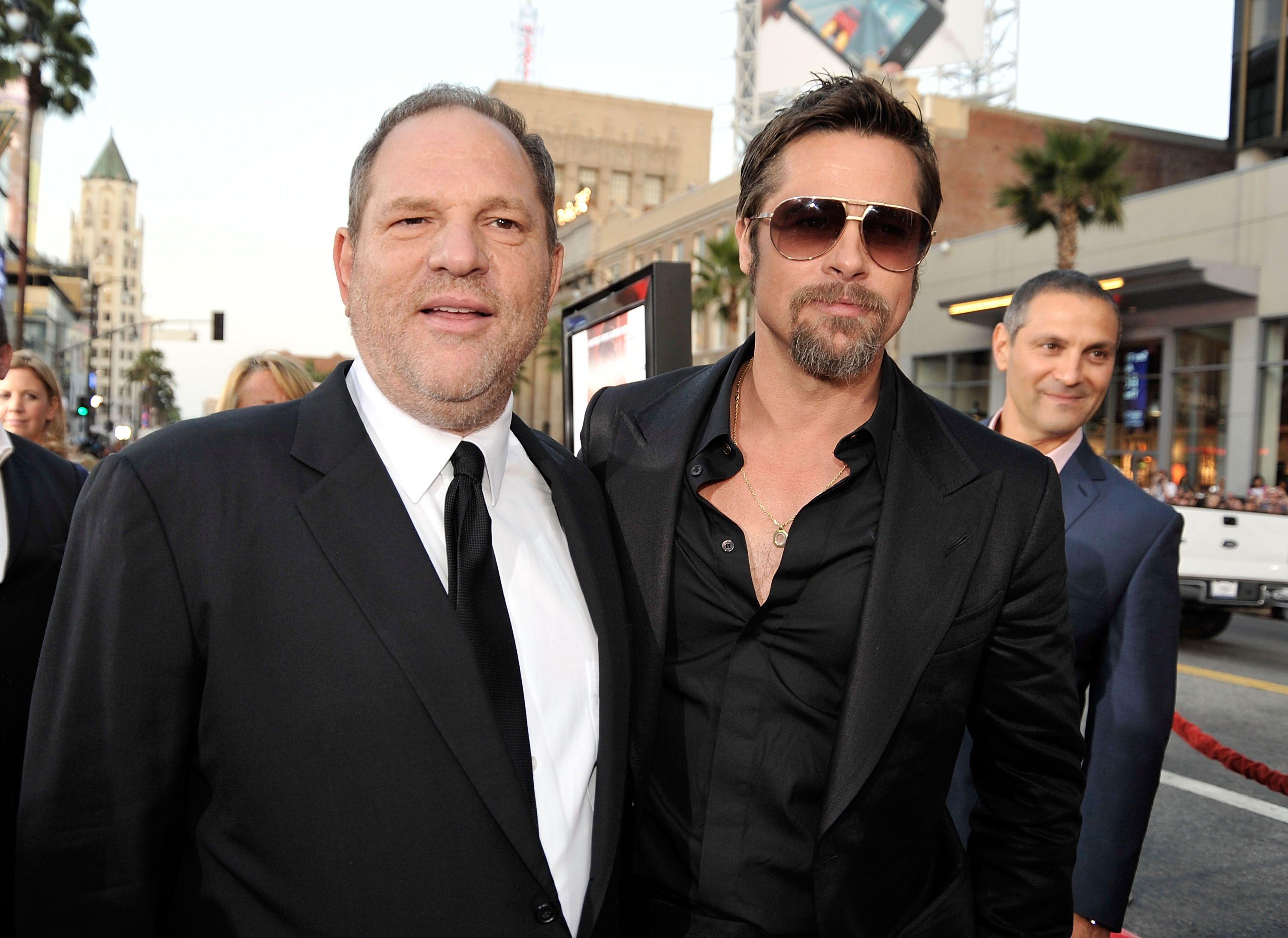 Brad Pitt To Produce Film On The Harvey Weinstein Investigation