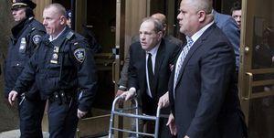 Harvey Weinstein's sexual crimes trial begins in New York.