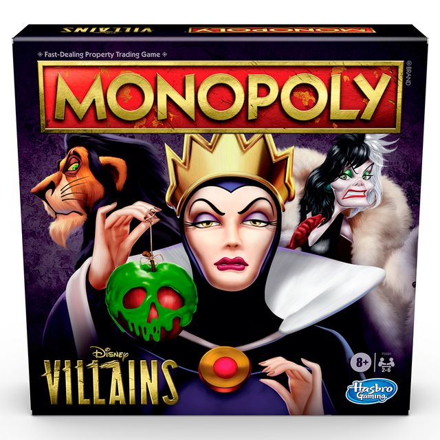 monopoly disney villains edition game from hasbro