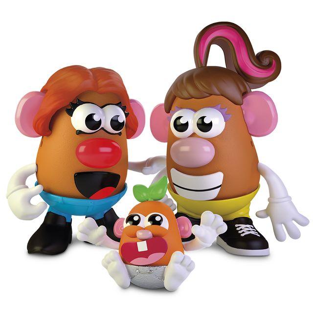 hasbro create your potato head family