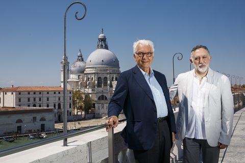 Paolo Baratta e Hashim Sarkis