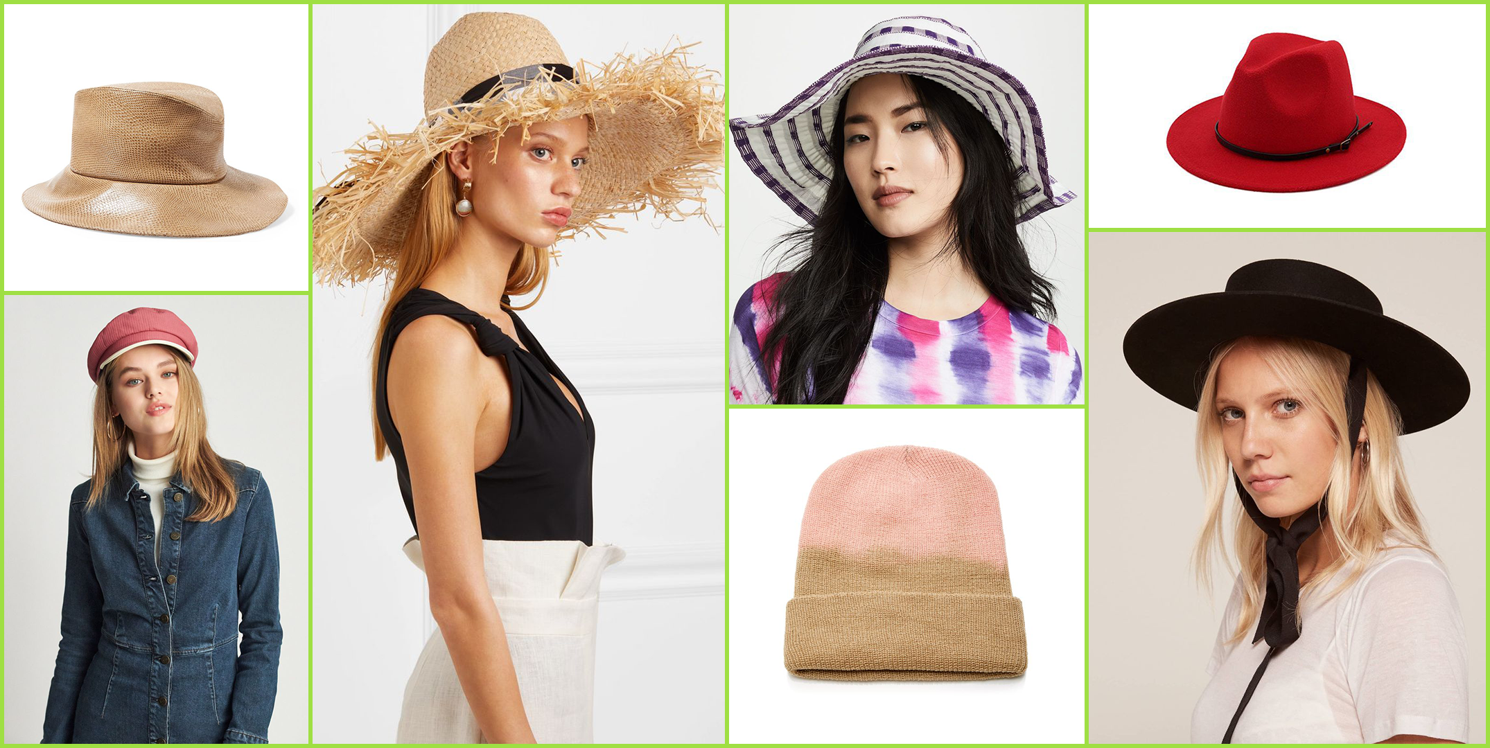 20 Chic Hat Brands You'll Want to Wear on Your Head This Season
