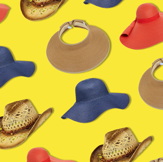 9e1b4e16 25 Best Sun Hats for Summer 2019 - Floppy, Woven Straw, More