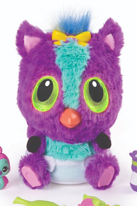 Stuffed toy, Toy, Plush, Pink, Purple, Violet, Textile, Owl, Baby toys, Fur,