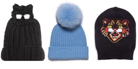 Knit cap, Beanie, Clothing, Cap, Woolen, Fur, Headgear, Bonnet, Outerwear, Knitting,